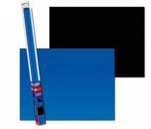 Фон двусторонний Aqua Nova Черно/Синий 150х60см  для аквариума