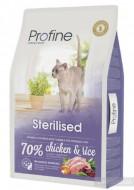Сухой корм Profine Cat Sterilised 10 кг куриное мясо и рис для стерилизованных и кастрированных кошек и котов
