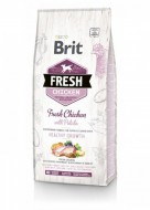 Сухой корм Brit Fresh Chicken & Potato Healthy Growth 12 kg (для щенков и юниоров)