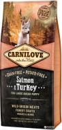 Сухой корм Carnilove Puppy Large Breed Salmon & Turkey 12 kg (для щенков крупных пород)