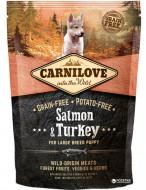 Сухой корм Carnilove Puppy Large Breed Salmon & Turkey 1.5 kg (для щенков крупных пород)