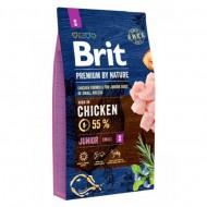Сухой корм Brit Premium Junior S 8 kg (для щенков и молодых собак мелких пород)