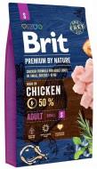 Сухой корм Brit Premium Junior S 3 kg (для щенков и молодых собак мелких пород)
