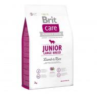 Сухой корм Brit Care Junior Large Breed Lamb & Rice 3 kg (для щенков и молодых собак крупных и гигантских пород)