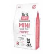 Сухой корм Brit Care GF Mini Puppy Lamb 7 kg (для щенков и молодых собак миниатюрных пород)