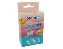 Тест Ptero pH 6.0-7.6 - на кислотность, узкий