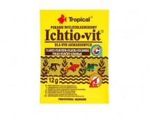 Корм Tropical Ichtio-Vit хлопья 1л