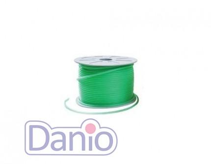 Китай Шланг силиконовый зеленый Soft Tubing 4-6мм, (цена за 100м) - Картинка 1