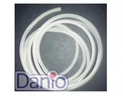 Китай Шланг силиконовый белый Soft Tubing 4-6мм, (цена за 1м) - Картинка 1