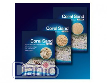 Aqua Medic (Германия) Коралловая крошка Aqua Medic Coral Sand 0-1 мм, 5 кг - Картинка 2
