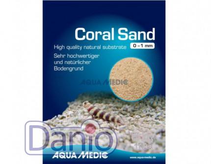 Aqua Medic (Германия) Коралловая крошка Aqua Medic Coral Sand 0-1 мм, 5 кг - Картинка 1