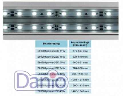 Светодиодный светильник Eheim powerLED daylight 43 Вт.