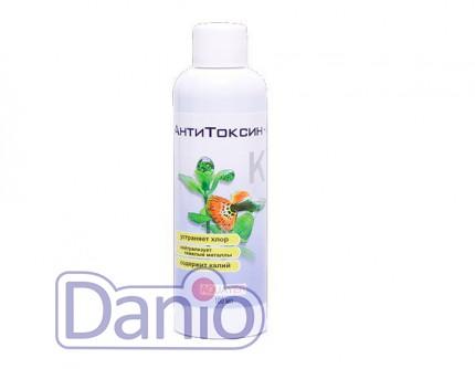 Aquayer АнтиТоксин+К, 100 мл для подготовки воды на 800 литров