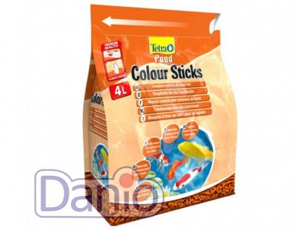 Корм Tetra Pond Colour Sticks 4л плавающие гранулы для окраса
