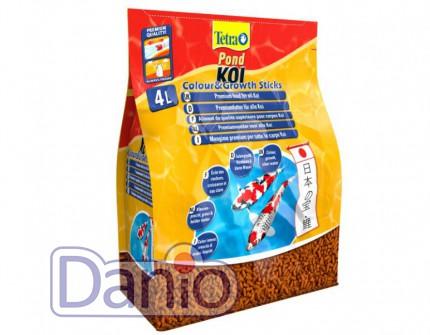 Корм Tetra Pond Koi Colour & Growth 4л палочки для роста