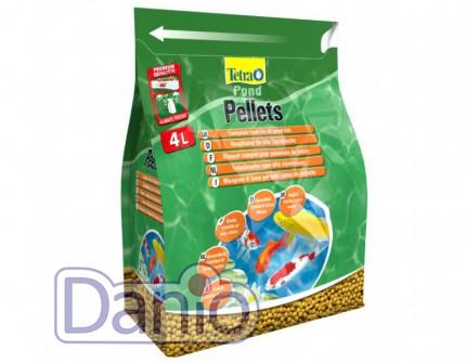 Корм Tetra Pond Multi Mix 4л/1,03 кг смесь хлопья, гранулы, табл