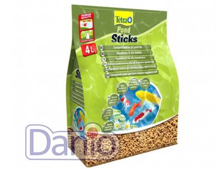 Корм Tetra Pond Sticks 4л/450гр плавающие гранулы основной корм