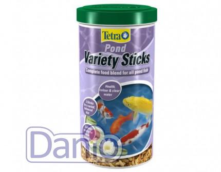 Корм Tetra Pond Veriety Sticks 1л смесь палочек