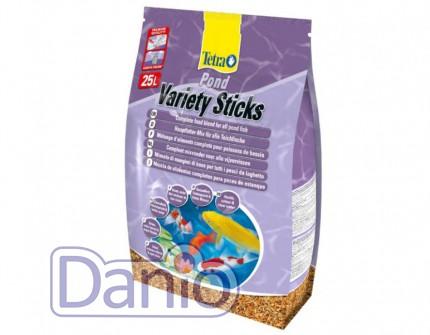 Корм Tetra Pond Veriety Sticks 25л смесь палочек