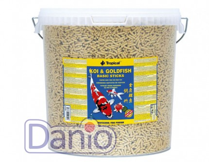 Корм Tropical Koi & Gold Basic Sticks 21л /1,8 кг основной корм