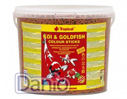 Корм Tropical Koi & Gold Color Sticks 5л