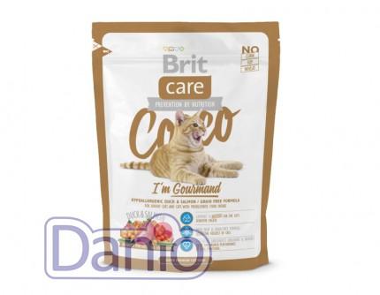 Сухой корм Brit Care Cat 0,4 кг Cocco I am Gourmand для приверед