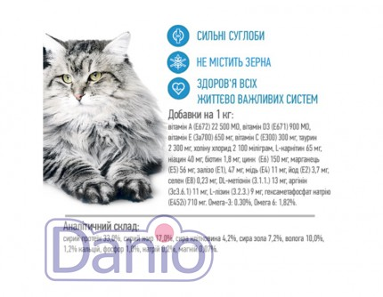 Сухой корм Brit Care Cat 2 кг Tobby I am a Large Cat для кошек к