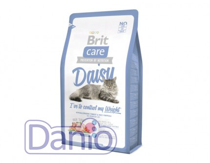 Сухой корм Brit Care Cat 7 кг Daisy I have to control my Weight