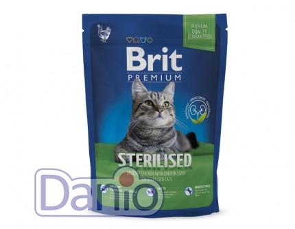 Сухой корм Brit Premium Cat Sterilized 1,5 кг для стерилизованны