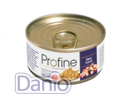 Консервы Profine Cat k 70г морепродукты