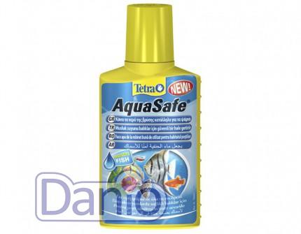 Tetra AquaSafe 100ml для подготовки воды, на 200л