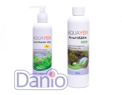 Набор Aquayer Альгицид+СО2+Альгошок 250 мл