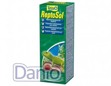 Витаминный концентрат для рептилий Tetrafauna ReptoSol 50 ml, жи