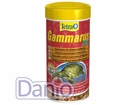 Корм Tetra Gammarus Mix 250 ml для черепах