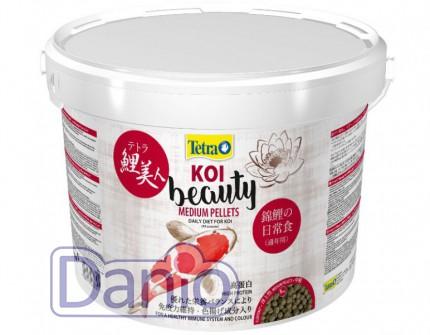 Корм Tetra KOI Beauty Medium 10л супер премиум корм для КОИ разм