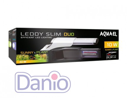 Светильник светодиодный Aquael Leddy Slim Duo 10W Sunny & Plant