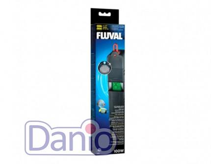 Электронный терморегулятор Hagen Fluval E 100W для аквариумов до