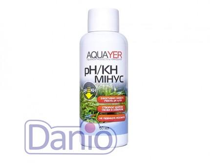 Aquayer pH/KH минус 60мл для снижения кислотности и карбонатной