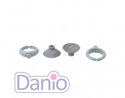 Schego (Германия) Присоски с держателями для нагреватели Schego titanium - Картинка 2