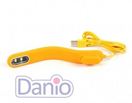 Светодиодный светильник Collar AquaLighter Pico Soft yellow, USB