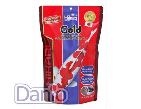 Hikari (Япония) Корм Hikari KOI gold S 500 g мини пеллеты, для усиления окраса - Картинка 1