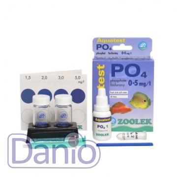 Тест Zoolek Aquatest PO4 на фосфаты для пресной и соленой воды