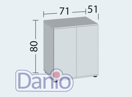Juwel Аквариумная тумба Juwel Lido 200 LED прямоугольная, коричневая - Картинка 2