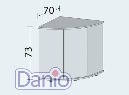 Juwel Аквариумная тумба Juwel Trigon 190 LED угловая, бук - Картинка 2