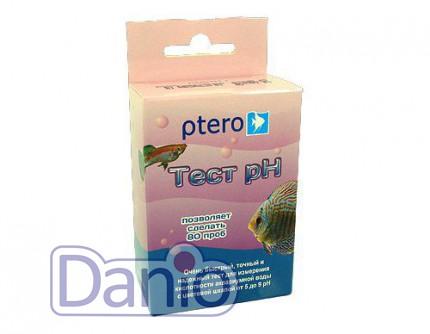 Тест Ptero pH 5.0-9.0 на кислотность