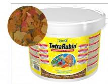 Корм Tetra Rubin хлопья 10л /2,05кг, для усиления окраса рыб