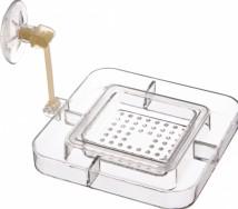 Кормушка Trixie  для аквариума квадратная 7,5*7,5см