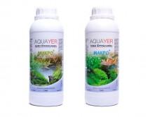 Набор удобрений Aquayer Микро + Макро 1л