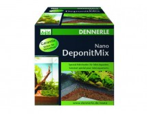 Специальная грунтовая подкормка Dennerle Nano Deponit Mix 1кг, для мини-аквариумов, готовая смесь