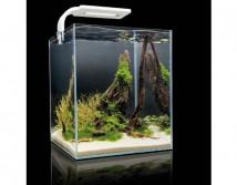 Аквариум Aquael Shrimp Set Smart для креветок, квадрат белый 10 литров
